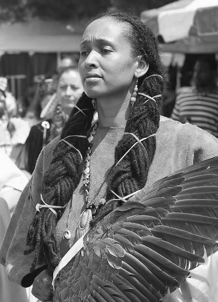 Indigenous Aboriginal American Woman
